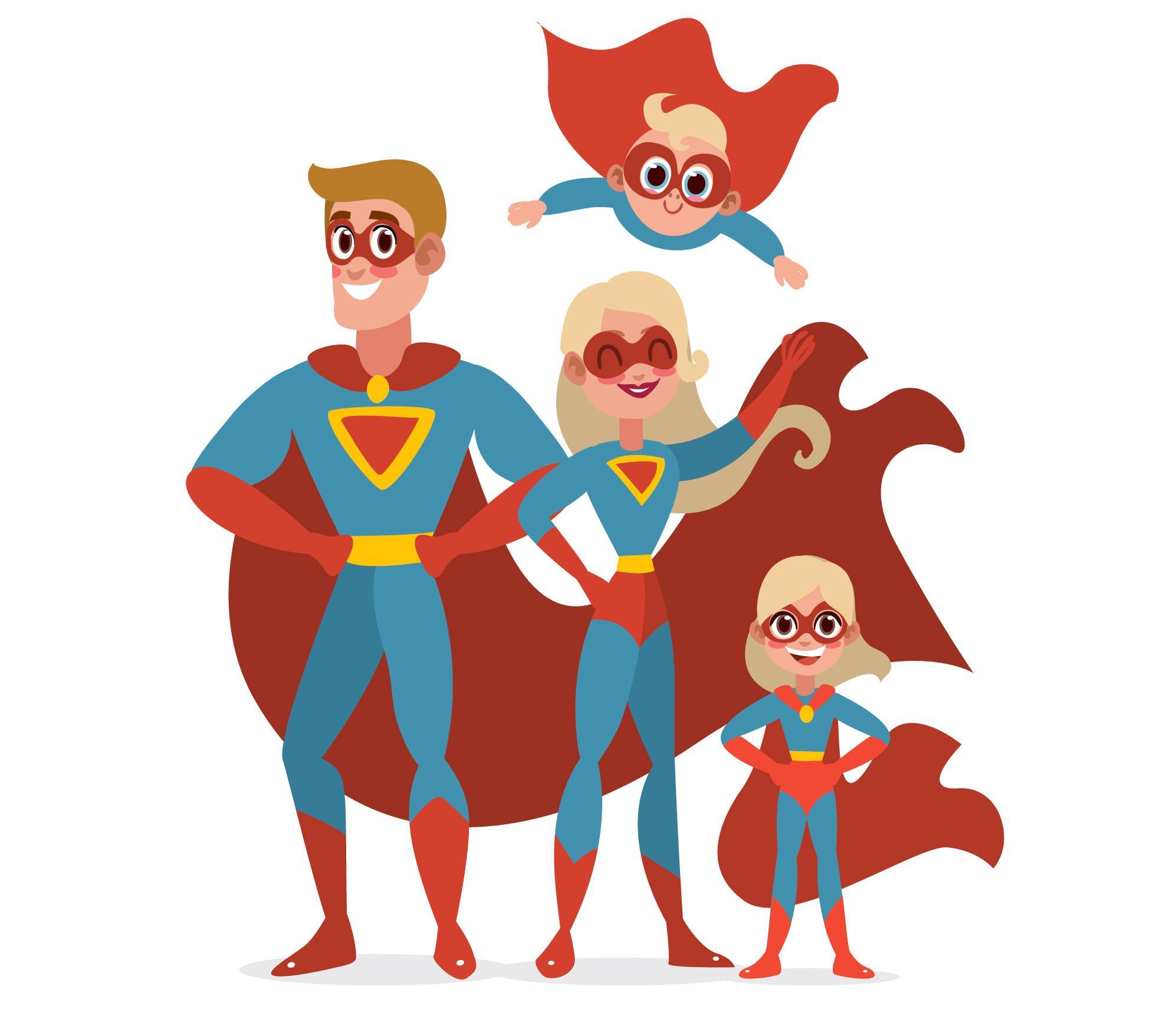 Famille super héros