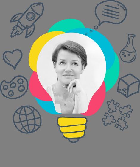 Tatiana DE GORLOF, coach experte créativité et raisonnement